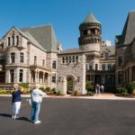Fans tour the Ohio State Reformatory