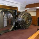 The bank vault used in The Shawshank Redemption.